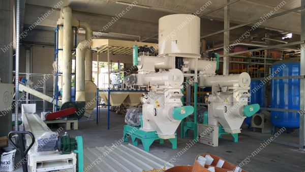 industrial wood pellet mill