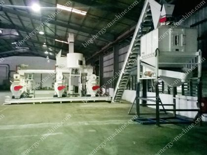 2000T/Month Wood Pellet Plant in Malaysia