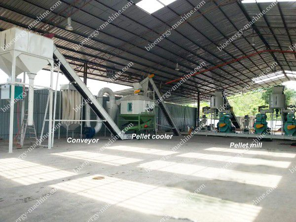 4-5TPH EFB pellet plant in Malaysia