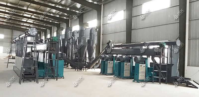 Screw Charcoal Briquette Production Line