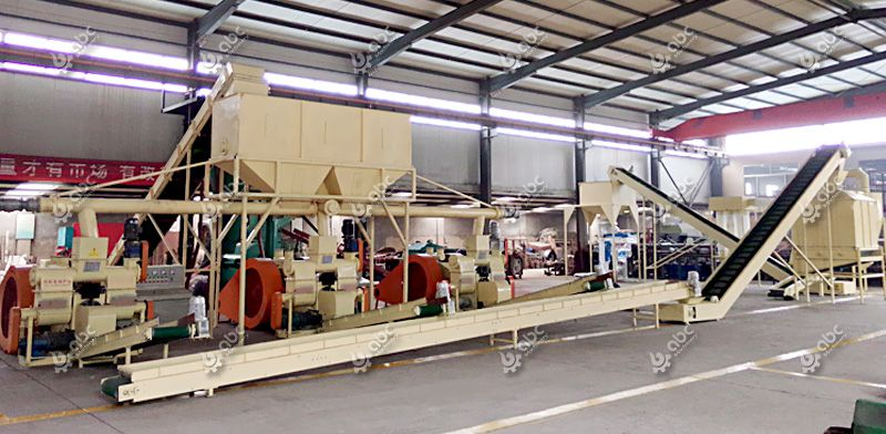 Turkey Project of Biomass Briquette Machine