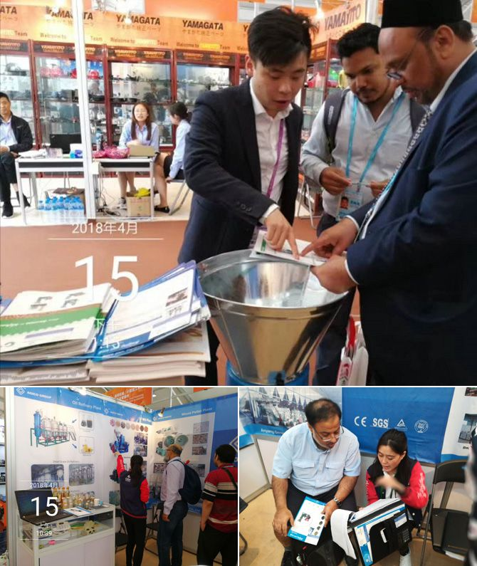 ABC machinery at Canton Fair