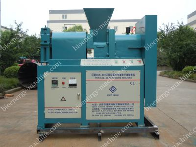 screw biomass briquetting machine