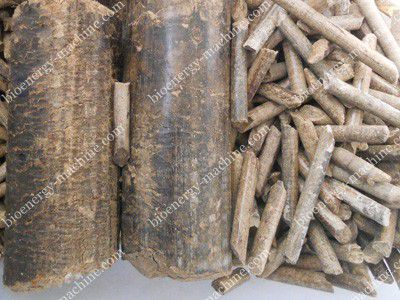 briquettes made by punching briquetting plant