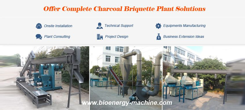 charcoal briquette plant projects