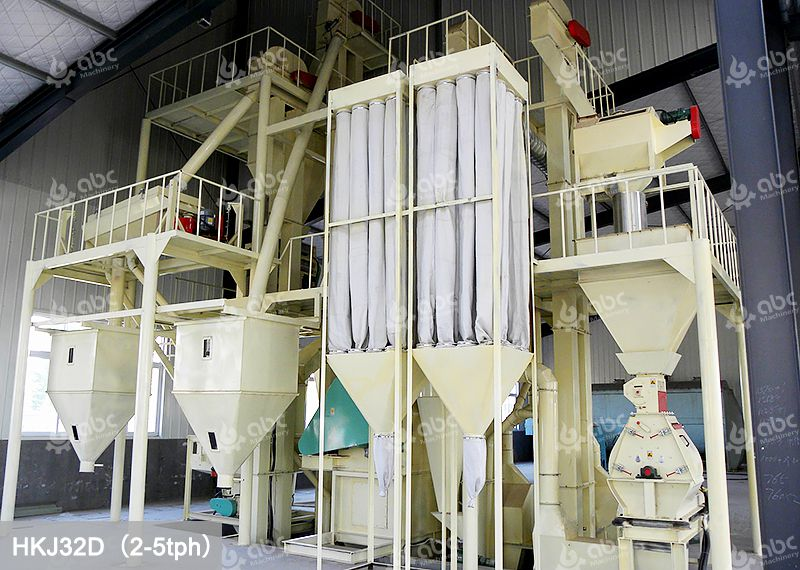 Commercial Feed Pellet Plant for Various Animal Feed