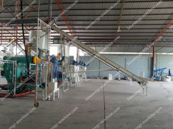 conveyor and pellet mill