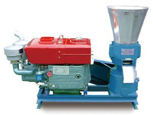 diesel small pellet mill