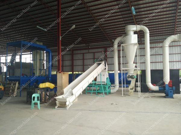 hammer mill and dryer