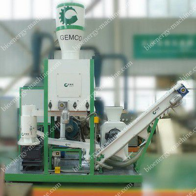 integrated biomass pelleting plant