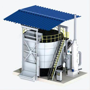 Manure Fertilizer Fermentation Tank