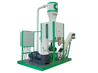 Mobile Pellet Plant Unit 250-450kg/h