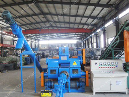 palm fiber briquette machine