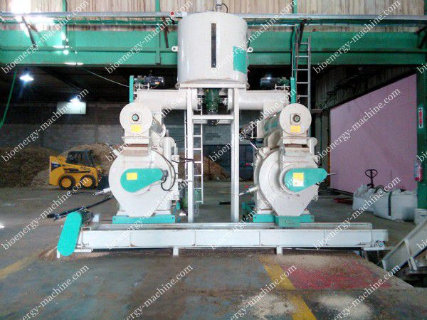 improve the production efficiency of wood pellet machine