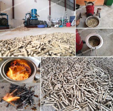Rice Husk Pellet Mill Commissioning in Cambodia