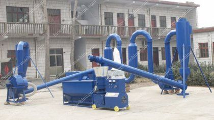 Sawdust Pellet Mill Makes Use of Saw Shavings and Saw Dust