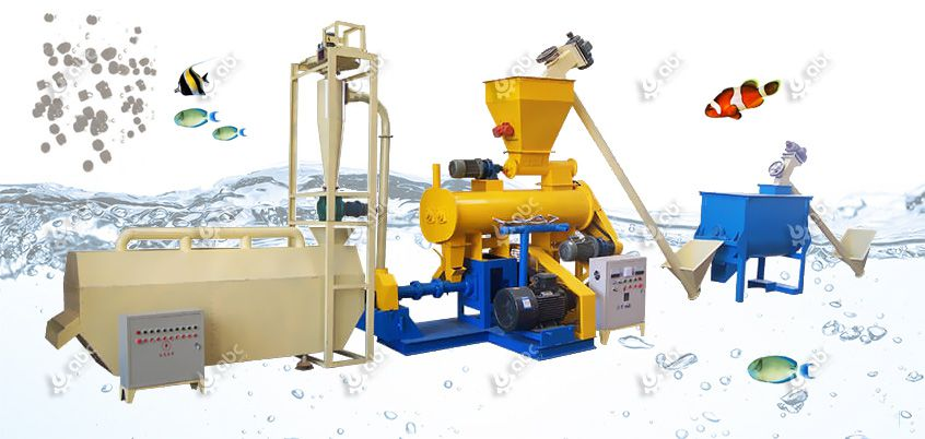 small scale fish feed production line