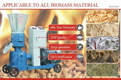 Hot Sale Small and Large Wood Pellet Press